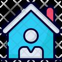 Home Coronavirus Quarantine Icon