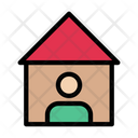 Stayhome Selfprotection Covid Icon