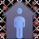 Quarantine Stay Home Icon
