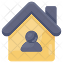 Stay At Home Quarantine Isolation Icon