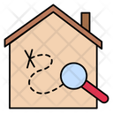 Stayathome Corona House Icon