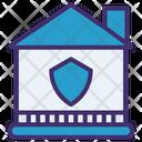 Stay At Home House Coronavirus Icon