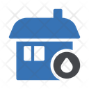 Stay Home Safety Icon
