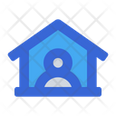Stay In Home Stay At Home House Icon