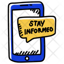 Stay Informed Icon
