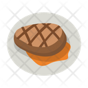 Beef Dinner Meal Icon