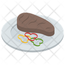 Foodstuff Meat Steak Icon