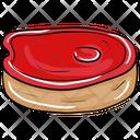 Grilled Steak Bbq Steak Grilled Meat Icon