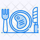 Steak Ribeye Grilled Food Icon