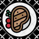 Steak Meat Food Icon
