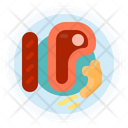 Steak Beef Food Icon