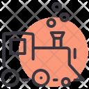 Steam Train Engine Icon