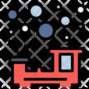 Steam Train Bubble Icon