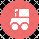 Steam Engine Tram Icon