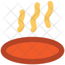 Steam Hot Food Icon