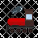 Steam Train Transportation Icon