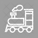 Steam Train Railway Icon