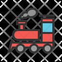 Steam Train Railway Icon