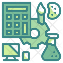 Steam Education Technology Learning Icon