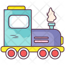 Steam Locomotive Icon