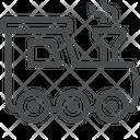 Railway Railway Engine Railway Steam Engine Icon