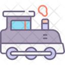 Steam Train Old Train Steam Locomotive Icon