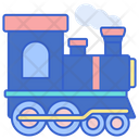 Steam Train Locomotive Engine Icon