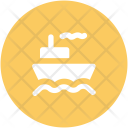 Steamboat Vessel Cruise Icon