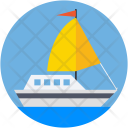 Steamboat Steamship Boat Icon