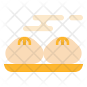 Steamed Bun Meal Icon