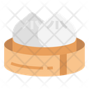 Steamedbun Chinese Food Icon