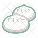 Steamed Buns Icon