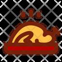 Steamed Chicken Chinese Cuisine Chicken Icon
