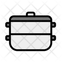 Steamer Comorant Boiler Icon