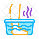 Steaming Foot Bath Icon