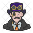 Steampunk Man Steampunk Man Icon