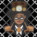 Steampunk Woman Steampunk Woman Icon