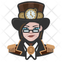 Steampunk Woman Steampunk Woman Icon