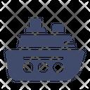 Marine Ship Steamship Icon