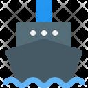 Steamship Ship Boat Icon