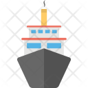 Steamboat Boat Ship Icon