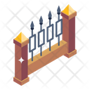 Picket Fence Fence Garden Fence Icon