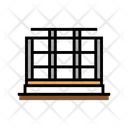 Steel Frame Building Icon