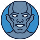 Steel Man Iron Man Warrior Icon