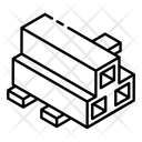 Steel Pipes Icon