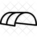 Steel tent Icon