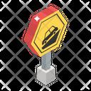 Road Sign Steep Sign Road Symbol Icon