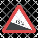 Steep Descent Icon