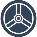 Steering Wheel Car Icon