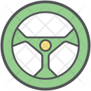 Steering Car Drive Icon